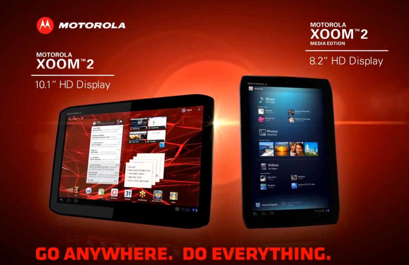 motorola unveils xoom 2 media edition computing forever archive sources. Black Bedroom Furniture Sets. Home Design Ideas