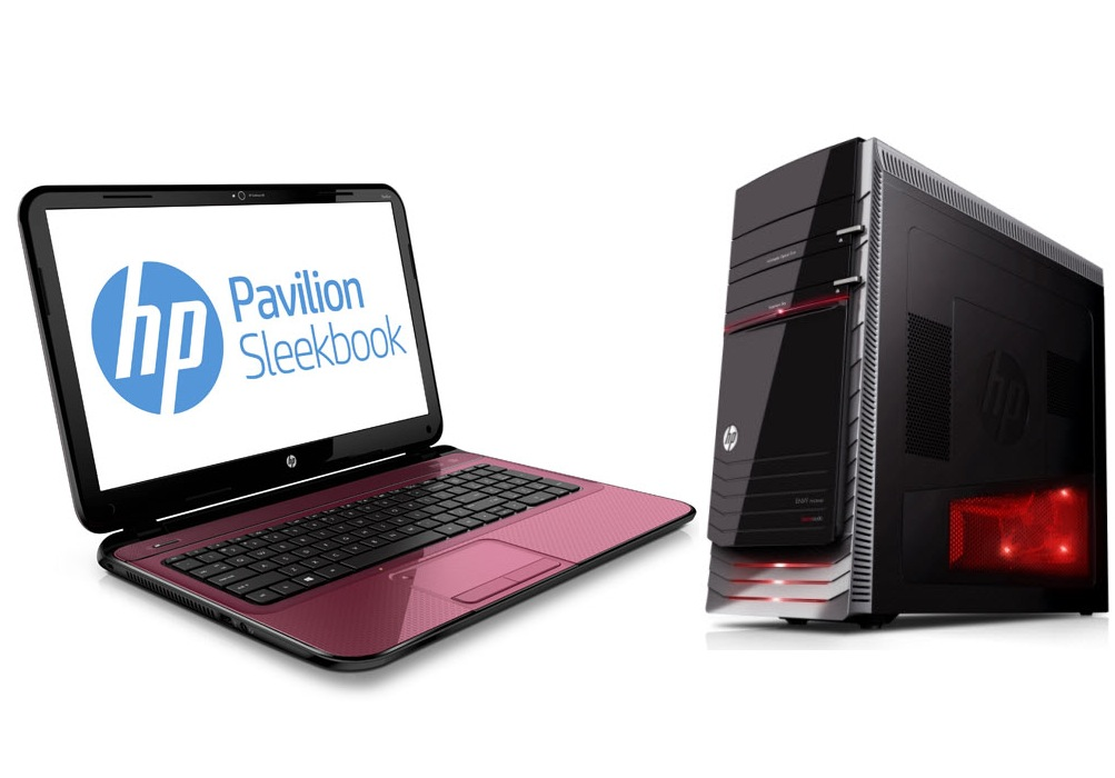 HP Pavilion Laptop & Desktop PCs
