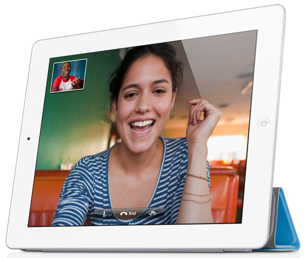 Apple's advertising of happy people using Facetime