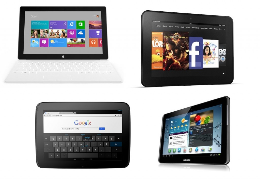 iPad competitors