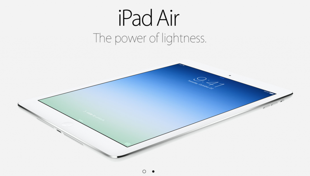 The all new iPad Air