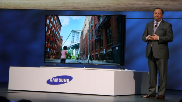 Samsung Bendable TV