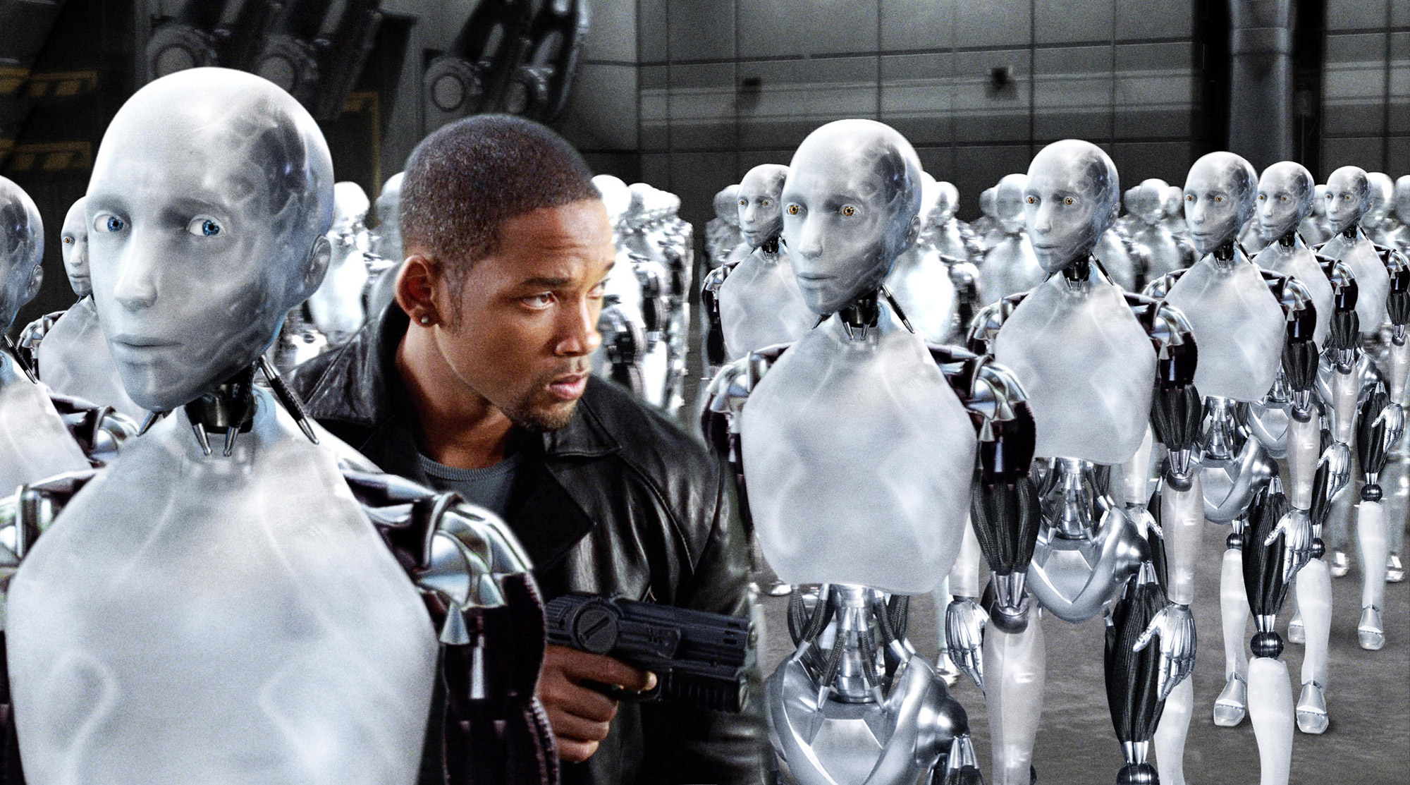 Technology related Movies iRobot