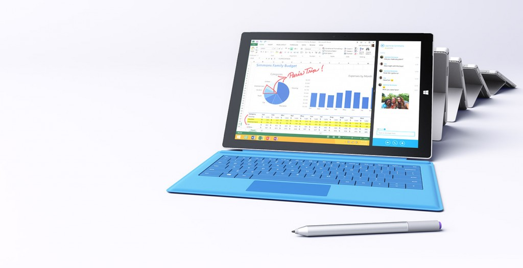 Apple and the iPad have a new competitor with the Microsoft Surface Pro 3