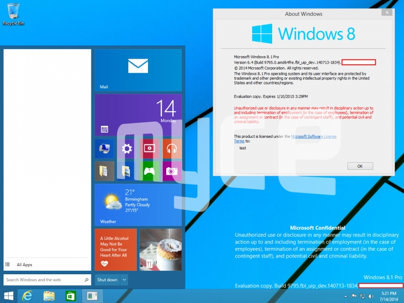 Windows 9 to reintroduce Start Menu