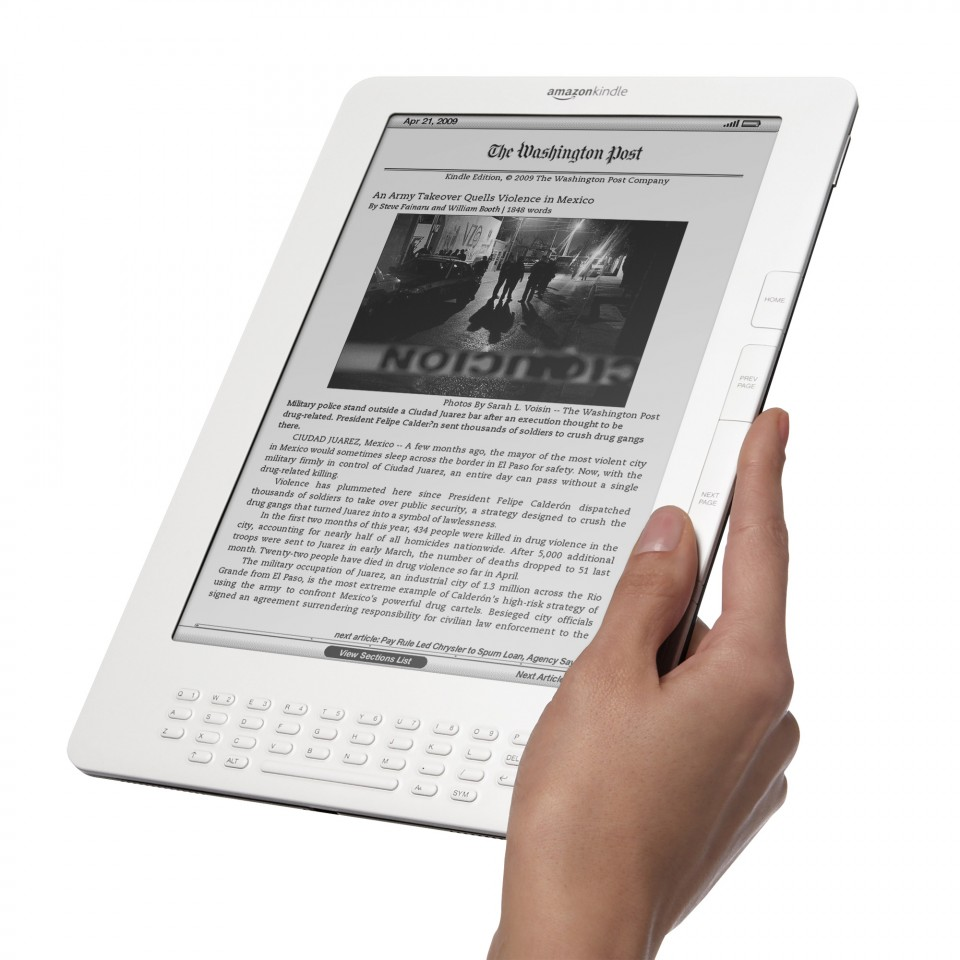 The Amazon Kindle was one the tech industries defining Tech products