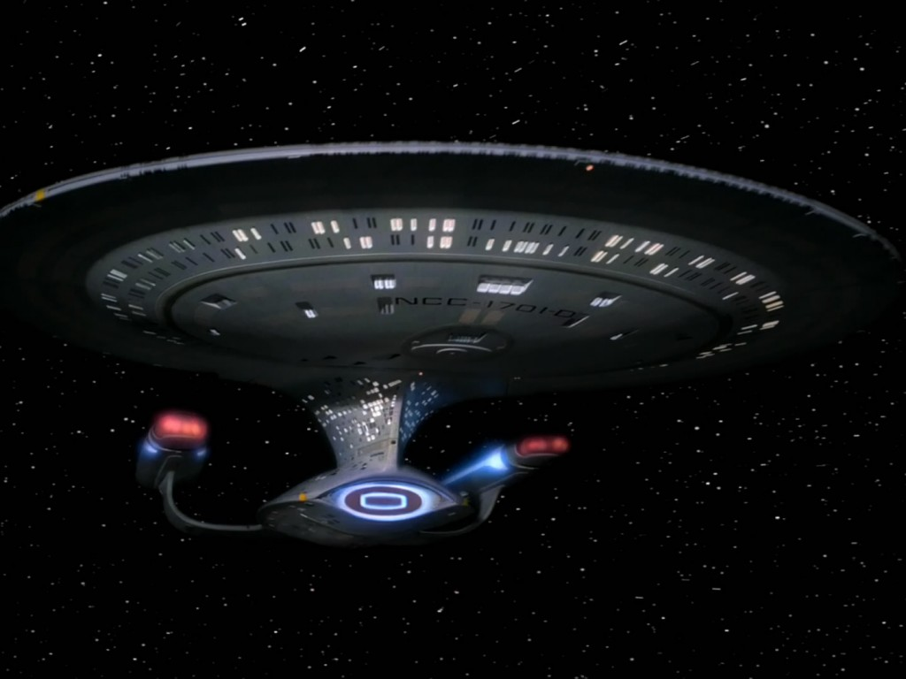 Spaceships: USS Enterprise D