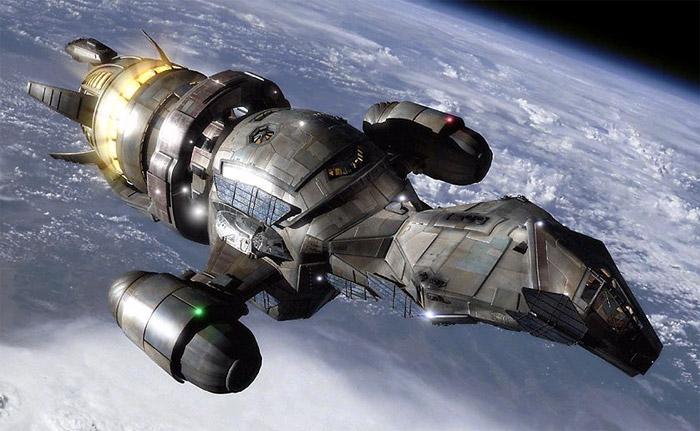 Spaceships: The Serenity from Firefly