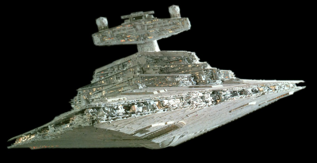 Spaceships: Star Destroyers from Star Wars