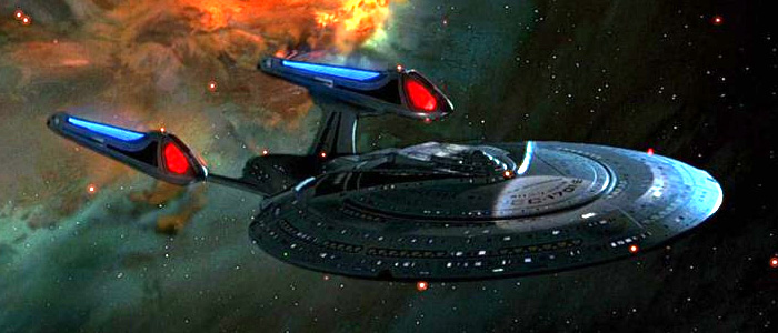 Spaceships: Enterprise E from Star Trek