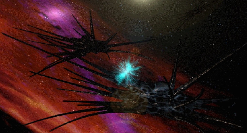 Spaceships: Shadow ships from Babylon 5