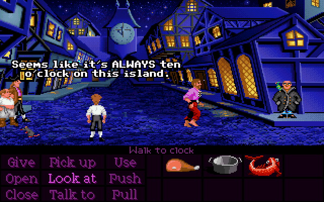 Point and click - Secret of Monkey Island
