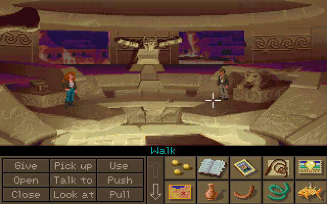Indiana Jones and the Fate of Atlantis - point and click