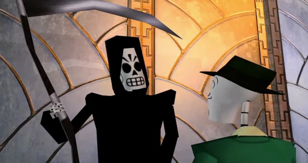 Classic point and click - Grim Fandango