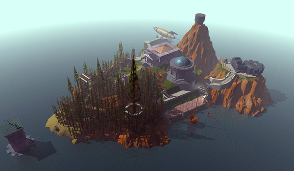 Classic Point and click - Myst