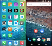 ios9-vs-android