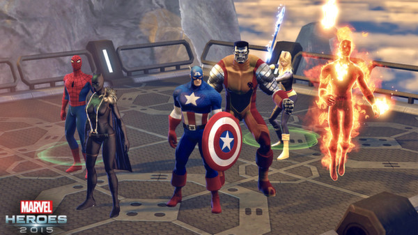 Steam games - Marvel Heroes